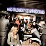 Mariachi Semblanza en el exterior del Ice Barcelona