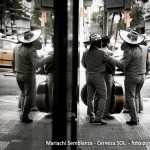 Mariachi Semblanza reflejado en Barcelona