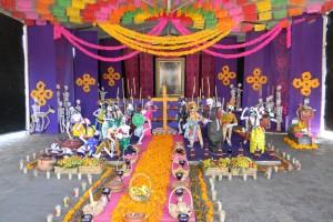 Ofrenda para altar de muertos