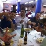La cena en el hotel de pontevedra