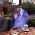 fumando argile