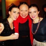 Viviana, Mary y Lupita